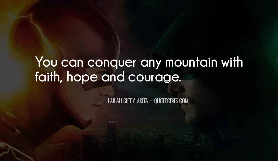 Quotes About Faith And Hope And Strength #1117392