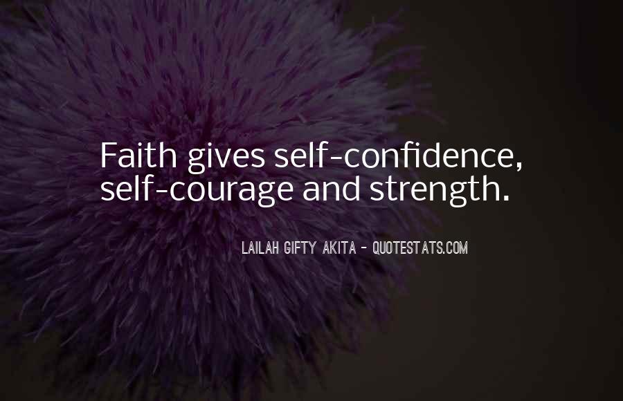 Quotes About Faith And Hope And Strength #1302312