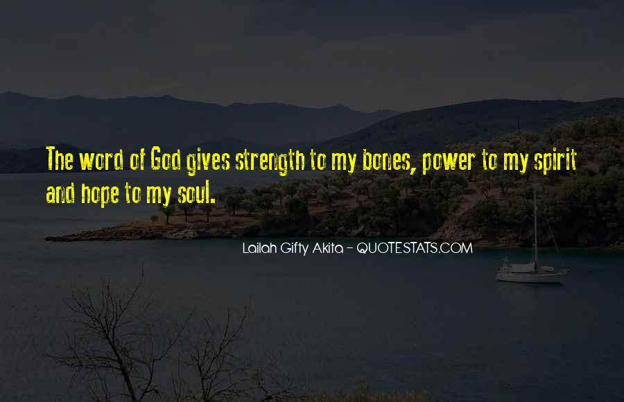 Quotes About Faith And Hope And Strength #1368637