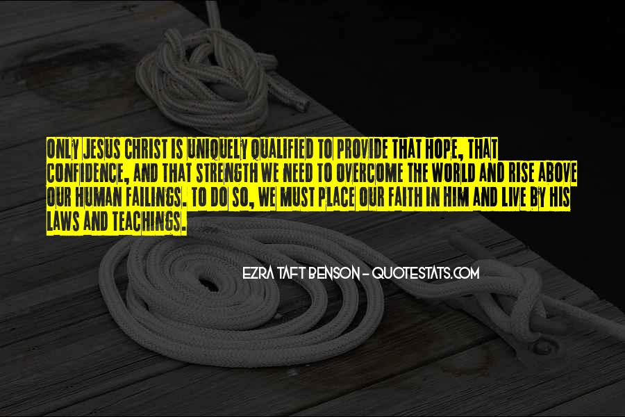 Quotes About Faith And Hope And Strength #1396449