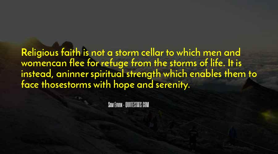 Quotes About Faith And Hope And Strength #321641