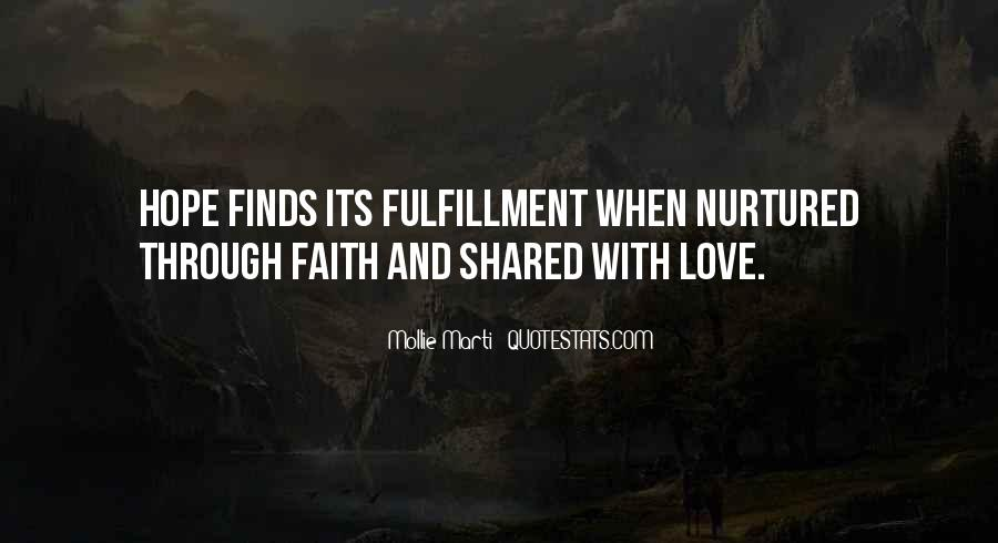 Quotes About Faith And Hope And Strength #429346