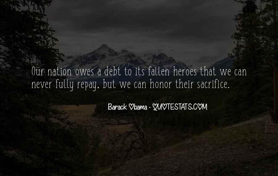 Quotes About A Fallen Hero #1009521