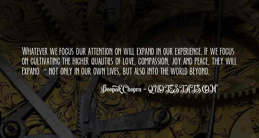 Quotes About Love And Peace In The World #111069