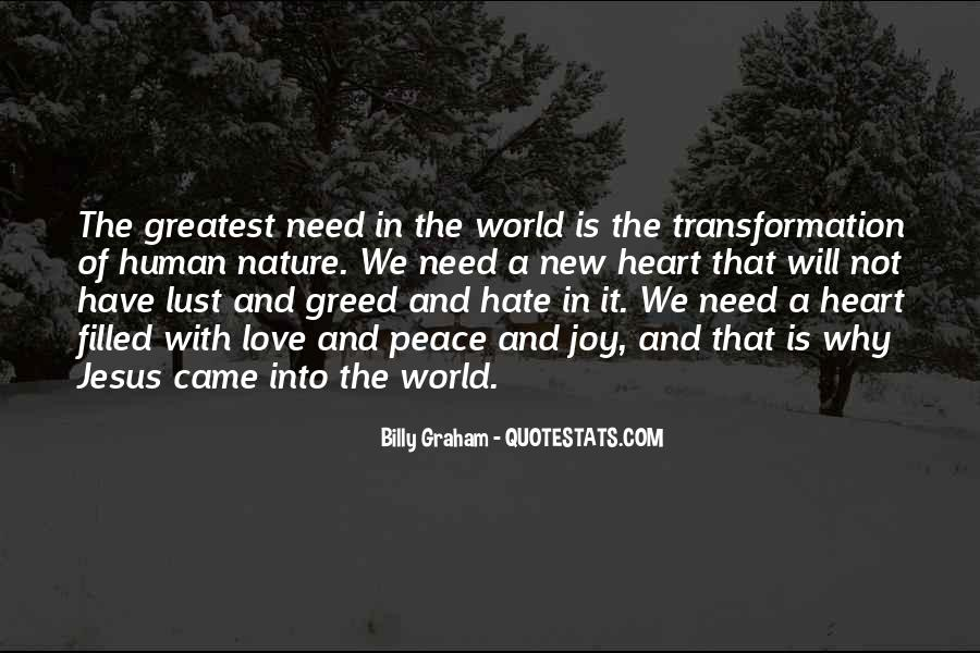 Quotes About Love And Peace In The World #1125313