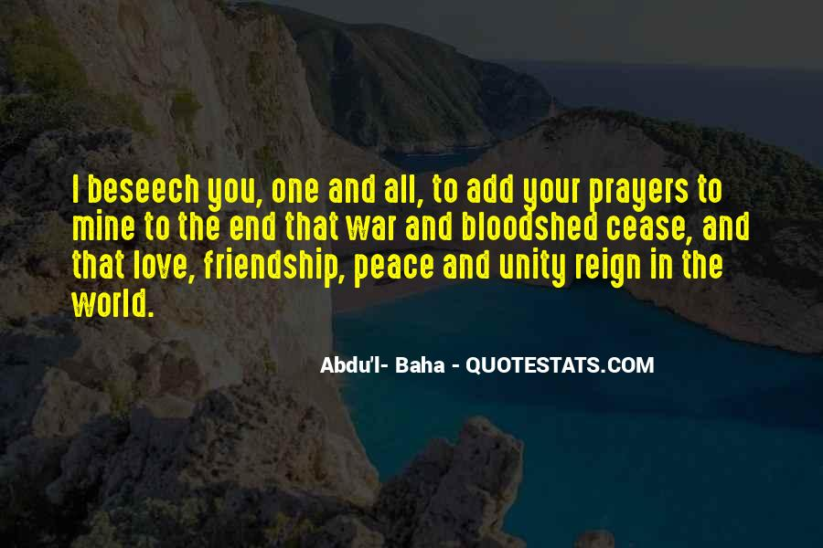 Quotes About Love And Peace In The World #1195278