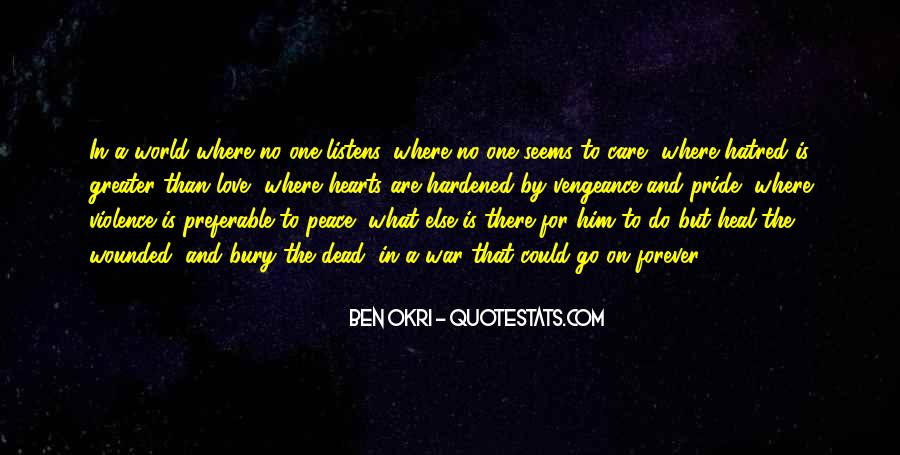 Quotes About Love And Peace In The World #1458422
