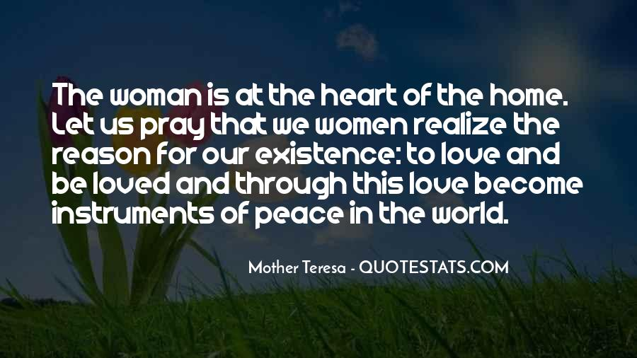 Quotes About Love And Peace In The World #1628339