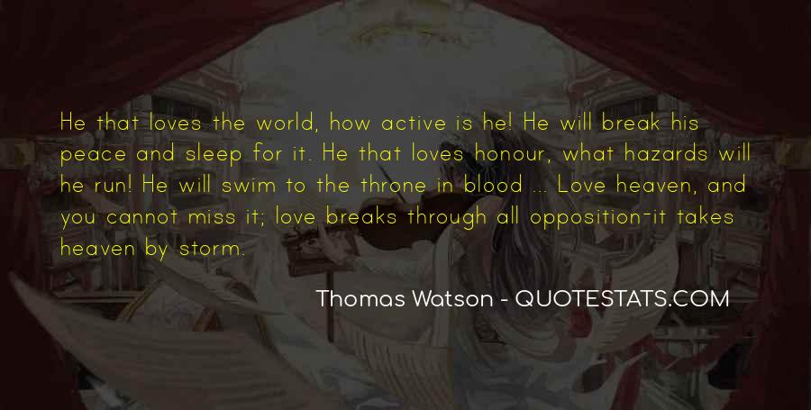 Quotes About Love And Peace In The World #1876166