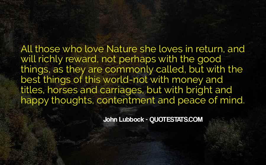 Quotes About Love And Peace In The World #331334
