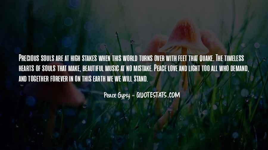 Quotes About Love And Peace In The World #507885