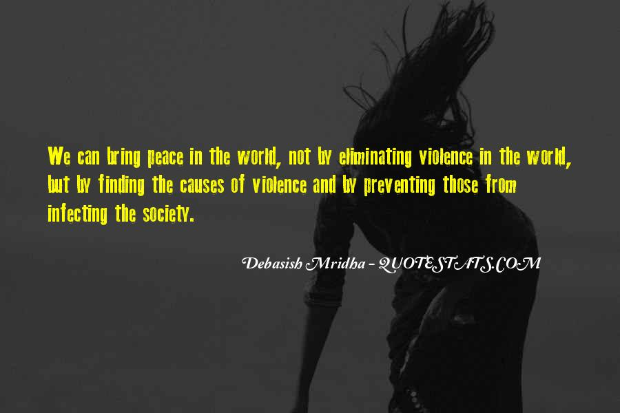Quotes About Love And Peace In The World #5806