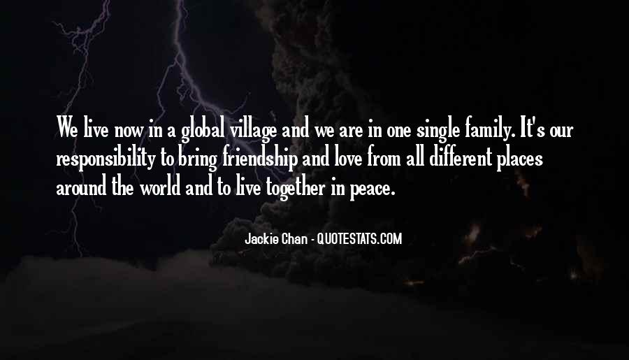 Quotes About Love And Peace In The World #934577
