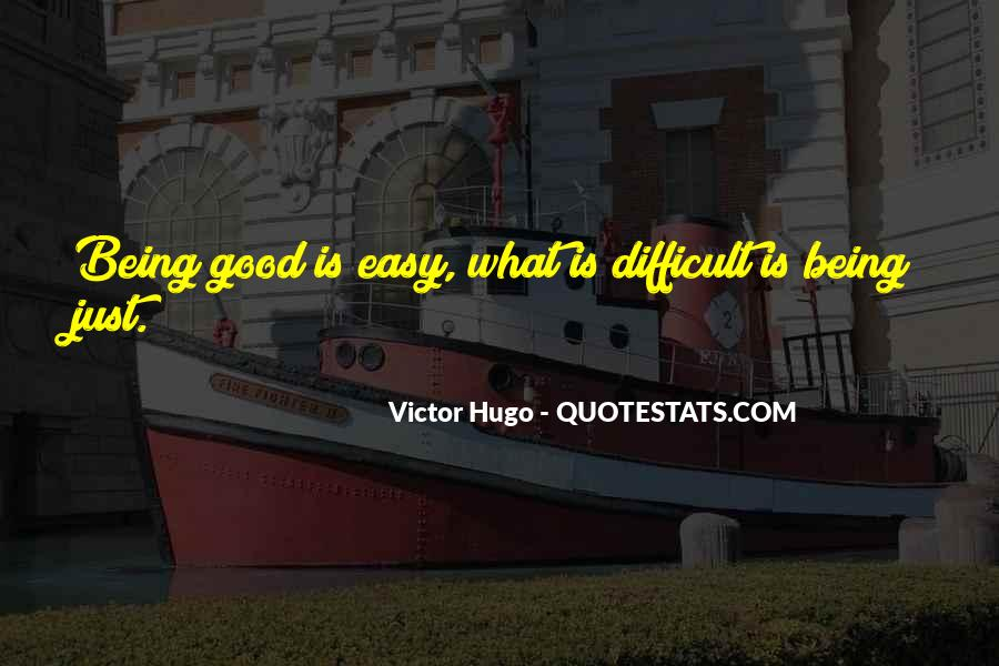Quotes About Victor Justice #1259046