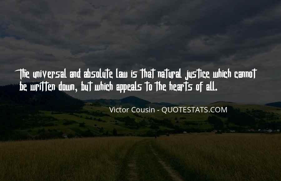 Quotes About Victor Justice #1726991
