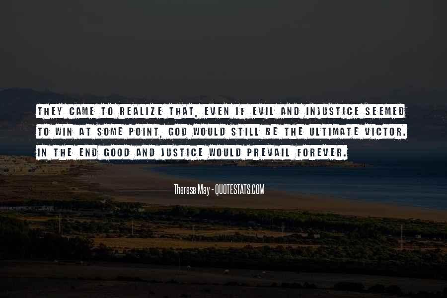 Quotes About Victor Justice #920137