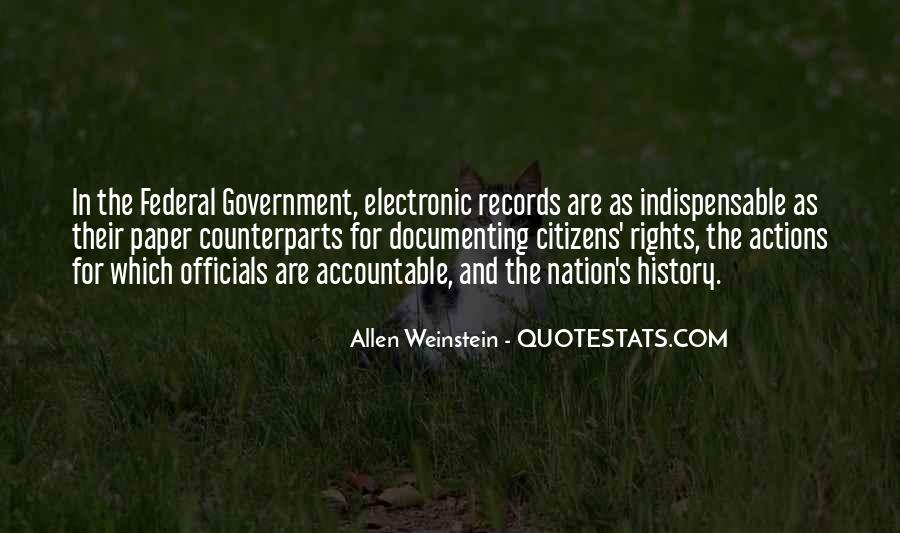 Quotes About Documenting History #499685