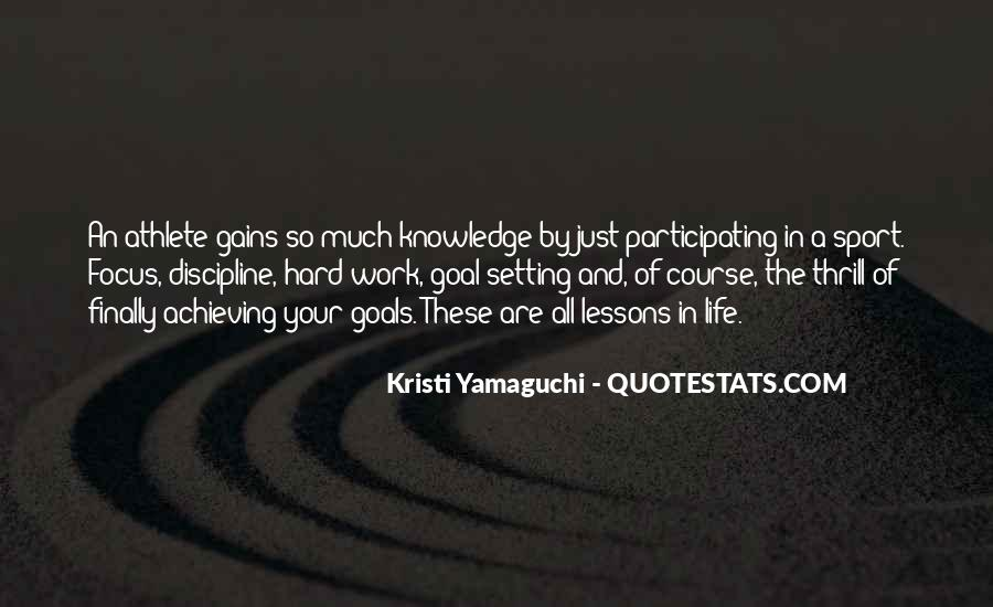 Quotes About Focus In Sports #1113405
