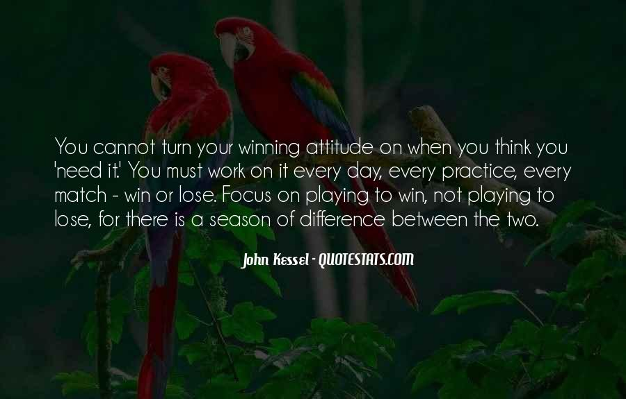 Quotes About Focus In Sports #1372071