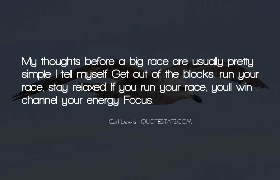Quotes About Focus In Sports #201467