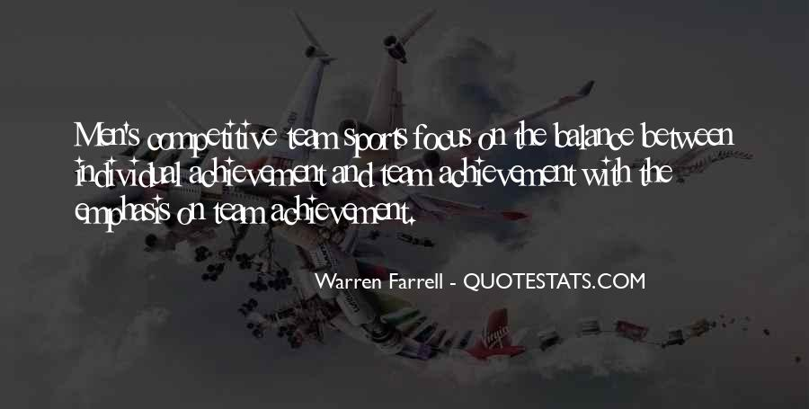 Quotes About Focus In Sports #840467