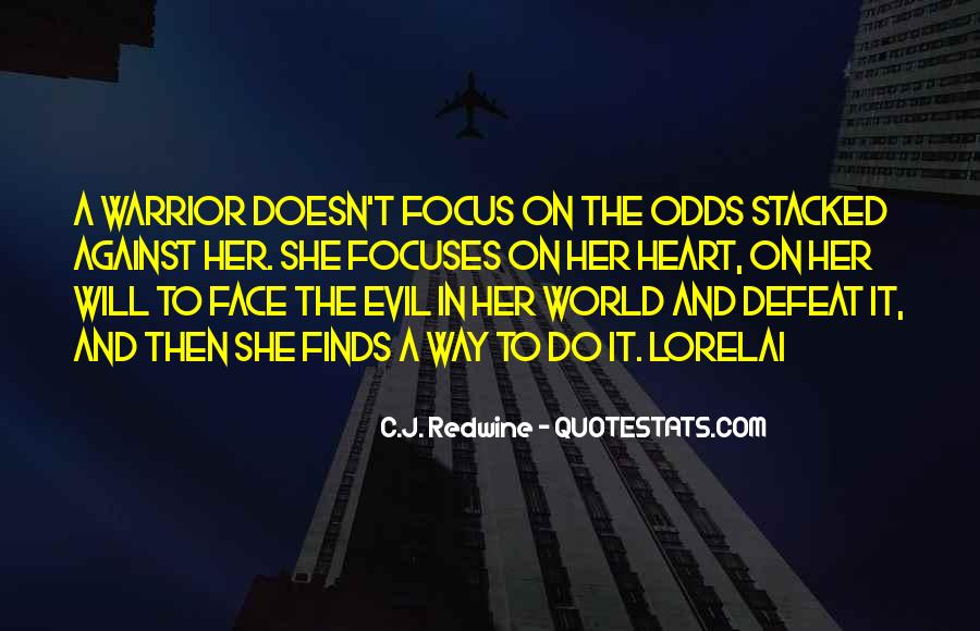 Quotes About Doing Nothing In The Face Of Evil #285682