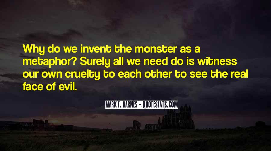 Quotes About Doing Nothing In The Face Of Evil #423178