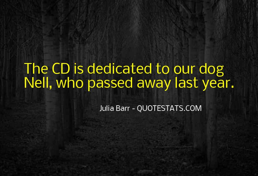 Quotes About A Dog That Has Passed #557019