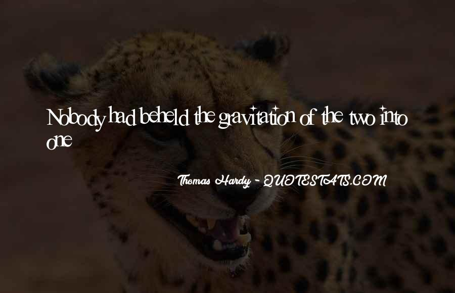 Quotes About Hardy #147703