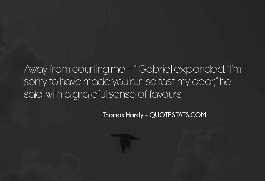 Quotes About Hardy #159779