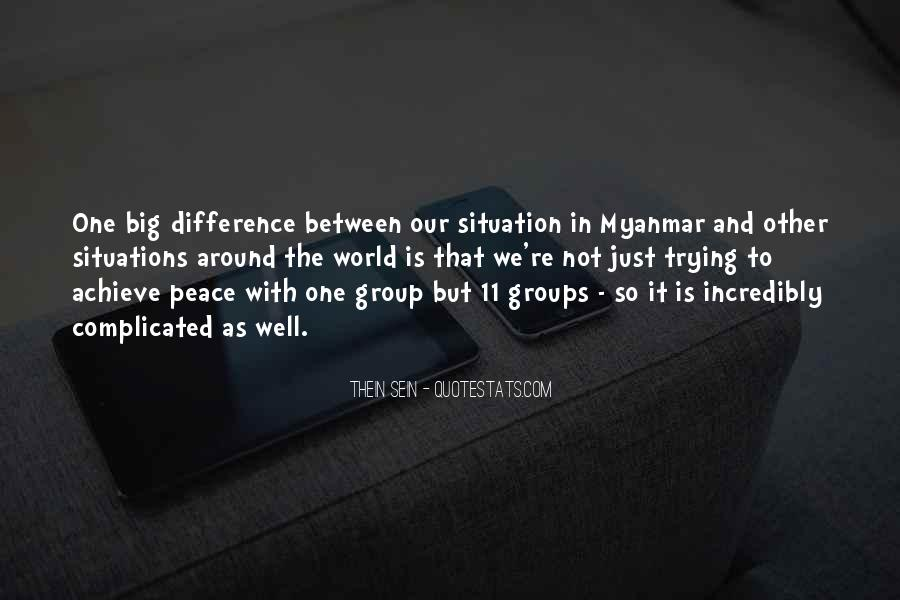 Quotes About Peace Around The World #1083969