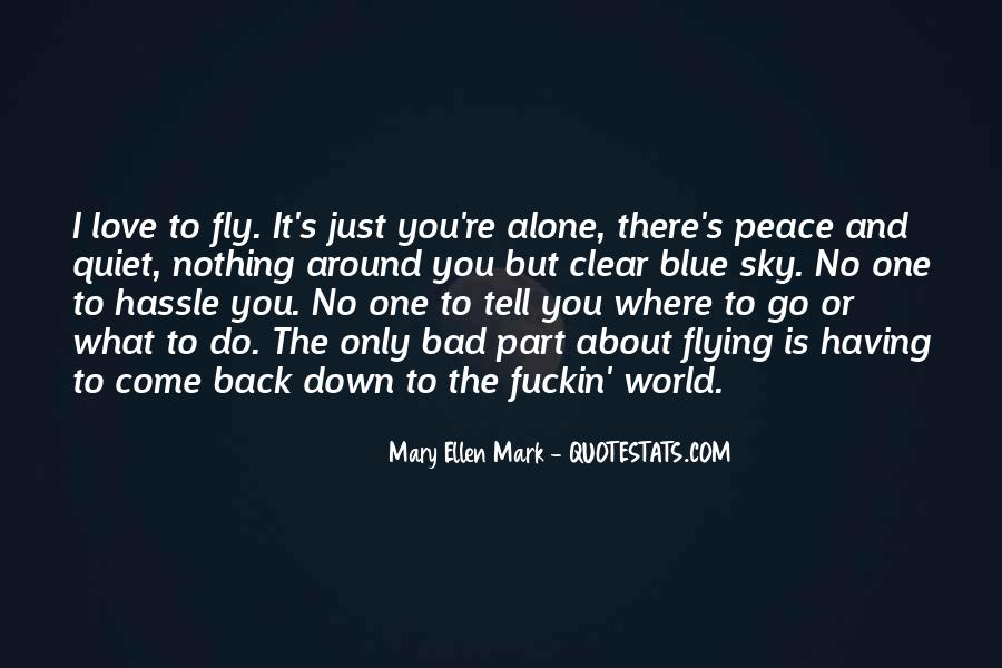 Quotes About Peace Around The World #1093793