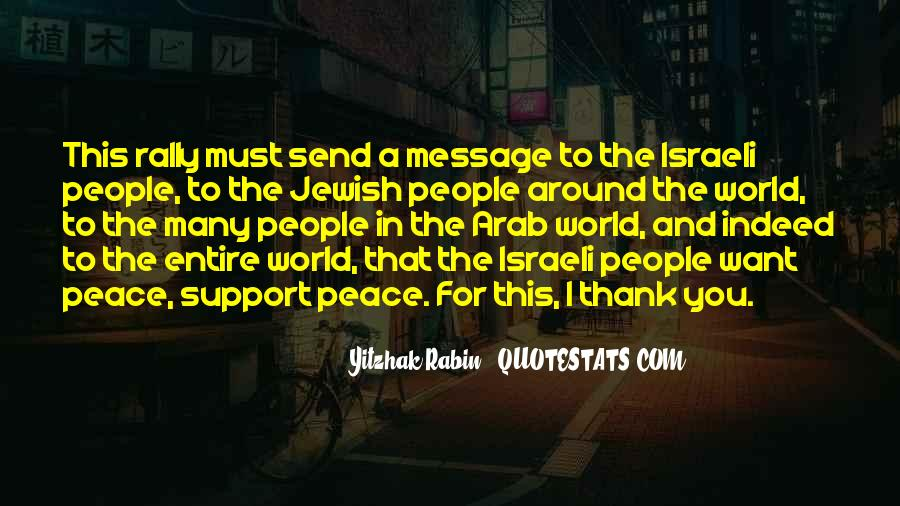 Quotes About Peace Around The World #1133130