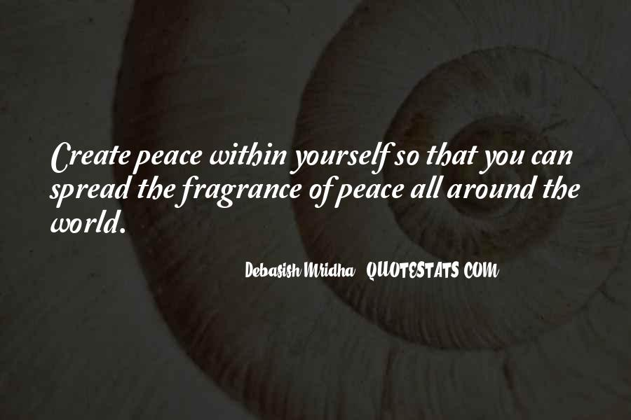 Quotes About Peace Around The World #1248745