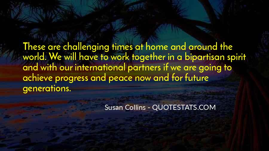 Quotes About Peace Around The World #1520514