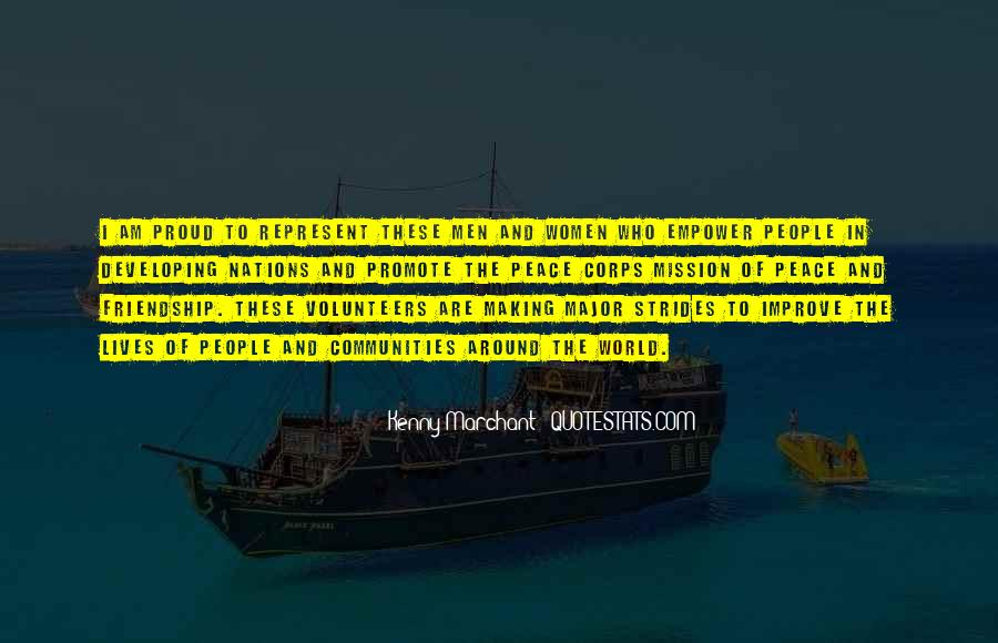 Quotes About Peace Around The World #1557518