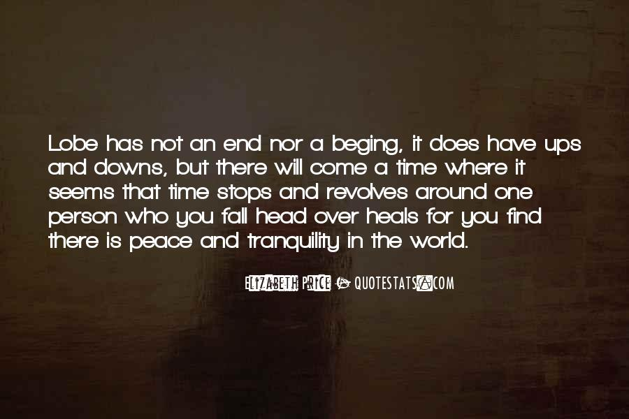 Quotes About Peace Around The World #1571545