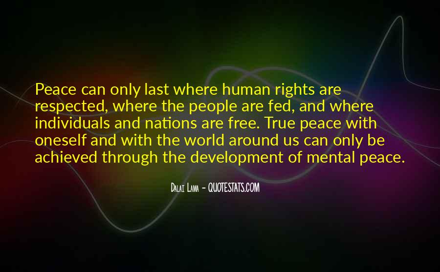 Quotes About Peace Around The World #1626656