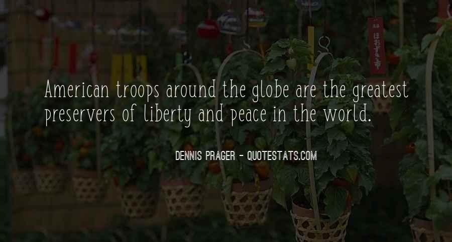 Quotes About Peace Around The World #1745261