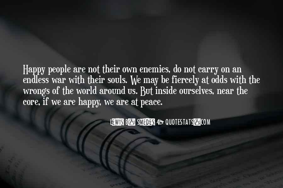 Quotes About Peace Around The World #1868015