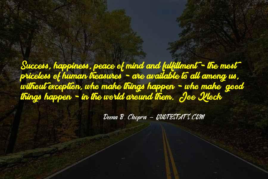 Quotes About Peace Around The World #301288