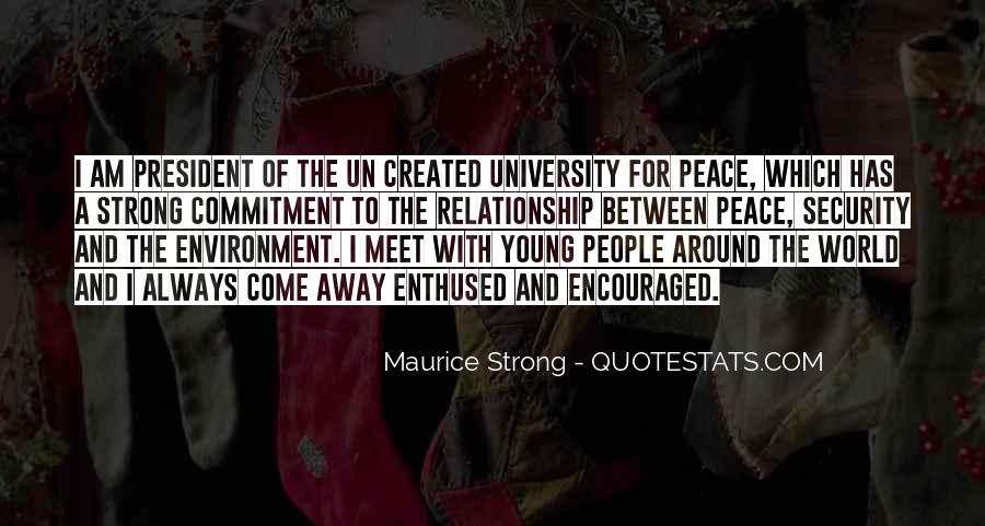 Quotes About Peace Around The World #424467