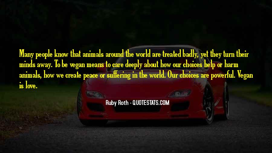 Quotes About Peace Around The World #506548
