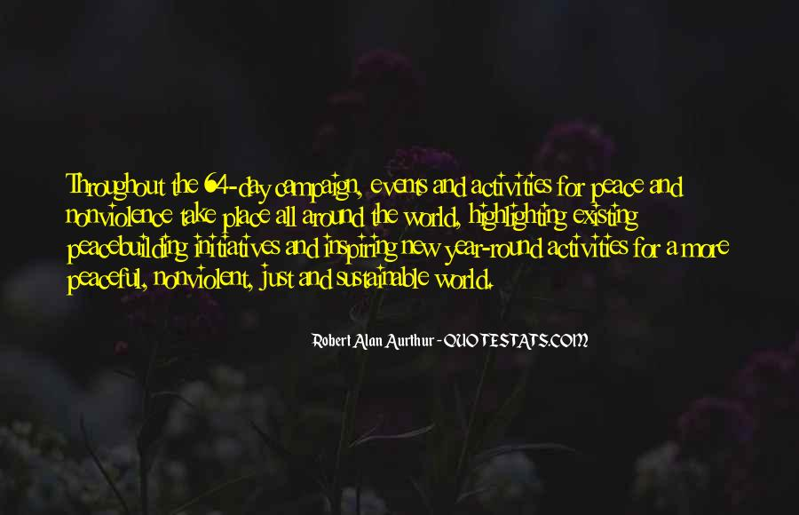 Quotes About Peace Around The World #540552