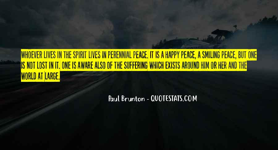 Quotes About Peace Around The World #69740