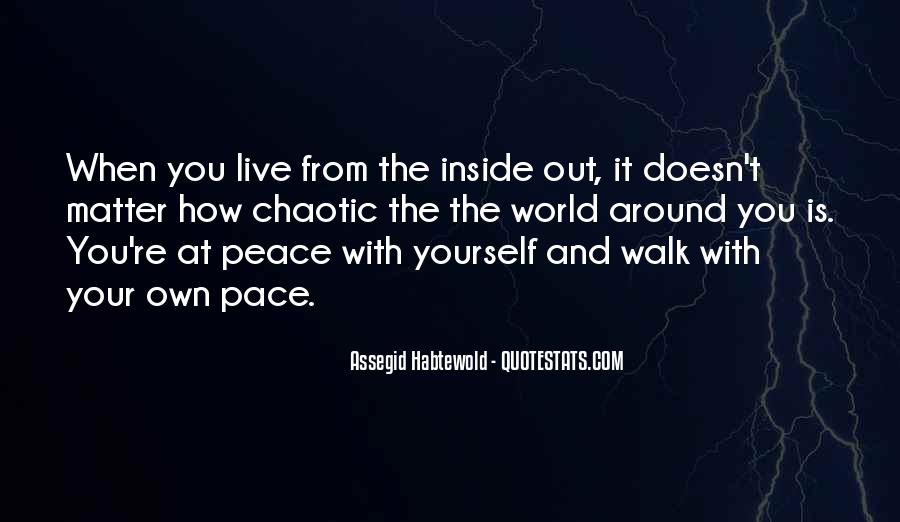 Quotes About Peace Around The World #746677