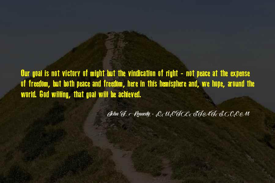 Quotes About Peace Around The World #858140