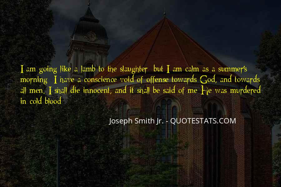 Quotes About The Blood Of The Lamb #1151148