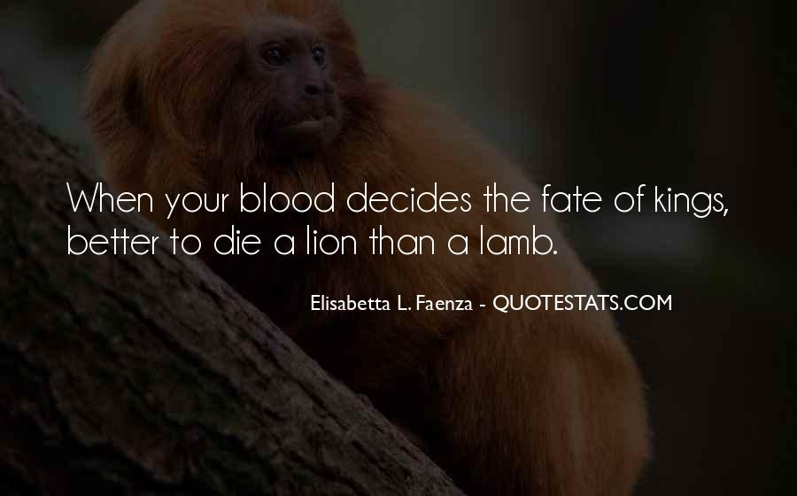 Quotes About The Blood Of The Lamb #1258381