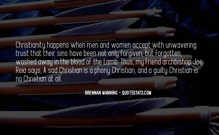 Quotes About The Blood Of The Lamb #419743
